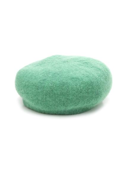 絨毛針織貝蕾帽