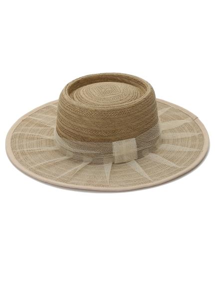 網紗裝飾草帽