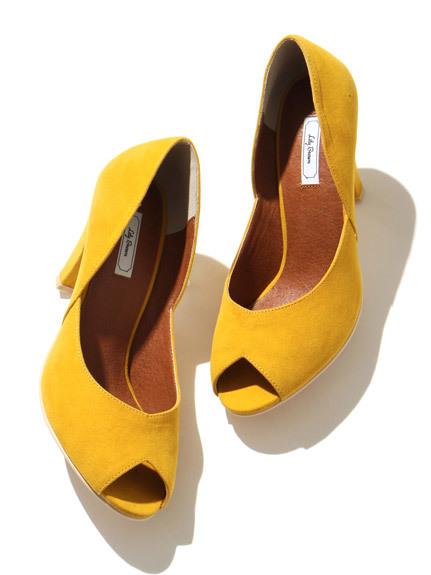 復古魚口鞋