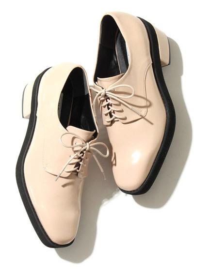 復古低跟牛津鞋