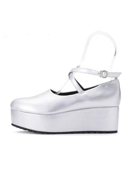 繫帶造型厚底鞋