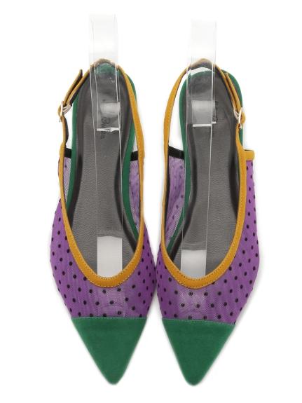時尚圓點涼鞋