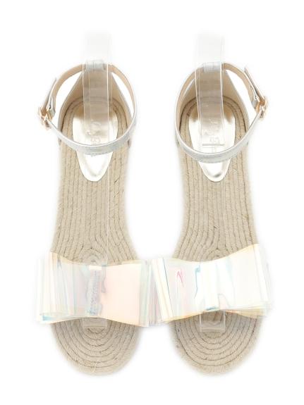 一字蝴蝶結涼鞋