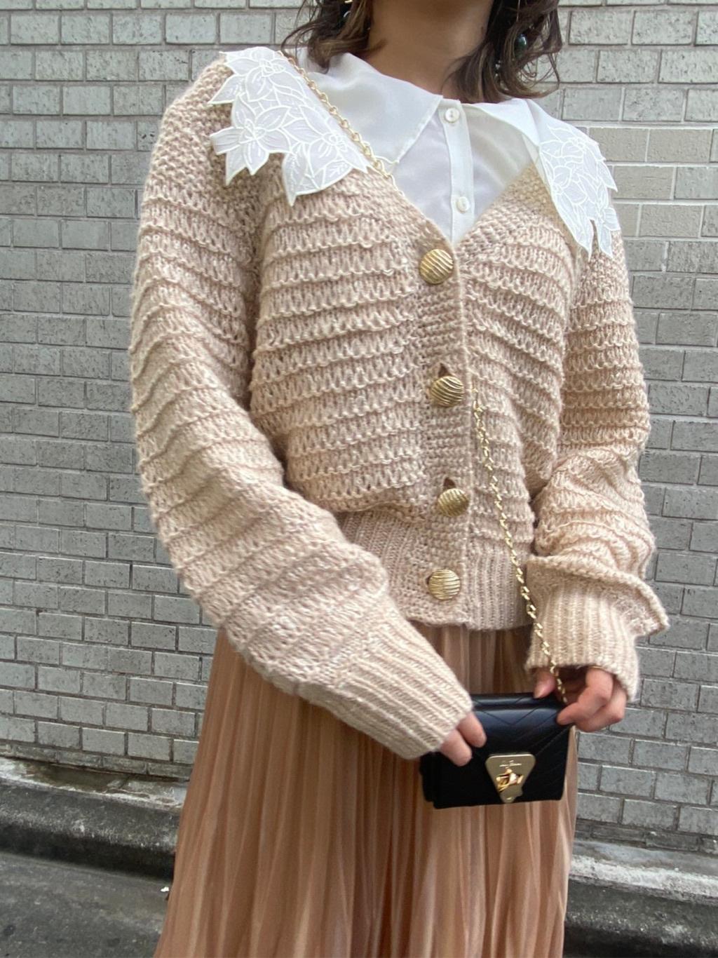 針織開襟外套