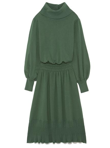 寬鬆剪裁素色連身裙