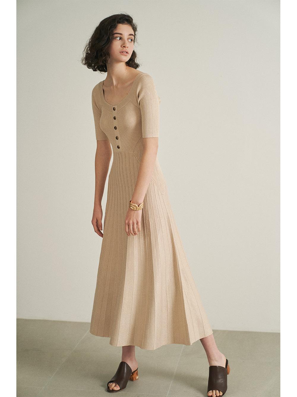 2way針織連身裙