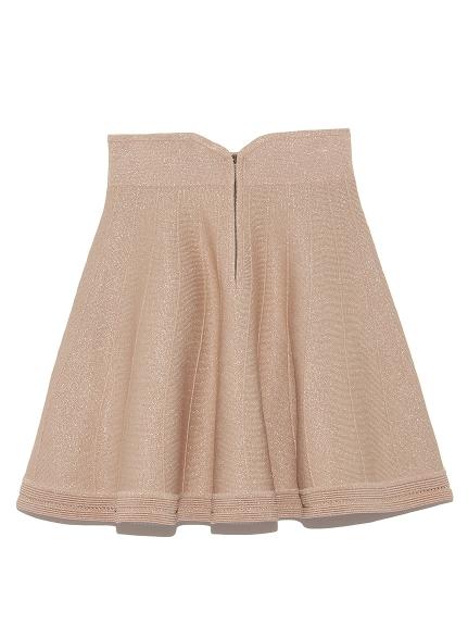 金蔥針織短裙