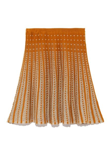 立體傘狀針織裙
