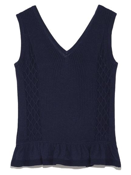羅紋編織造型背心