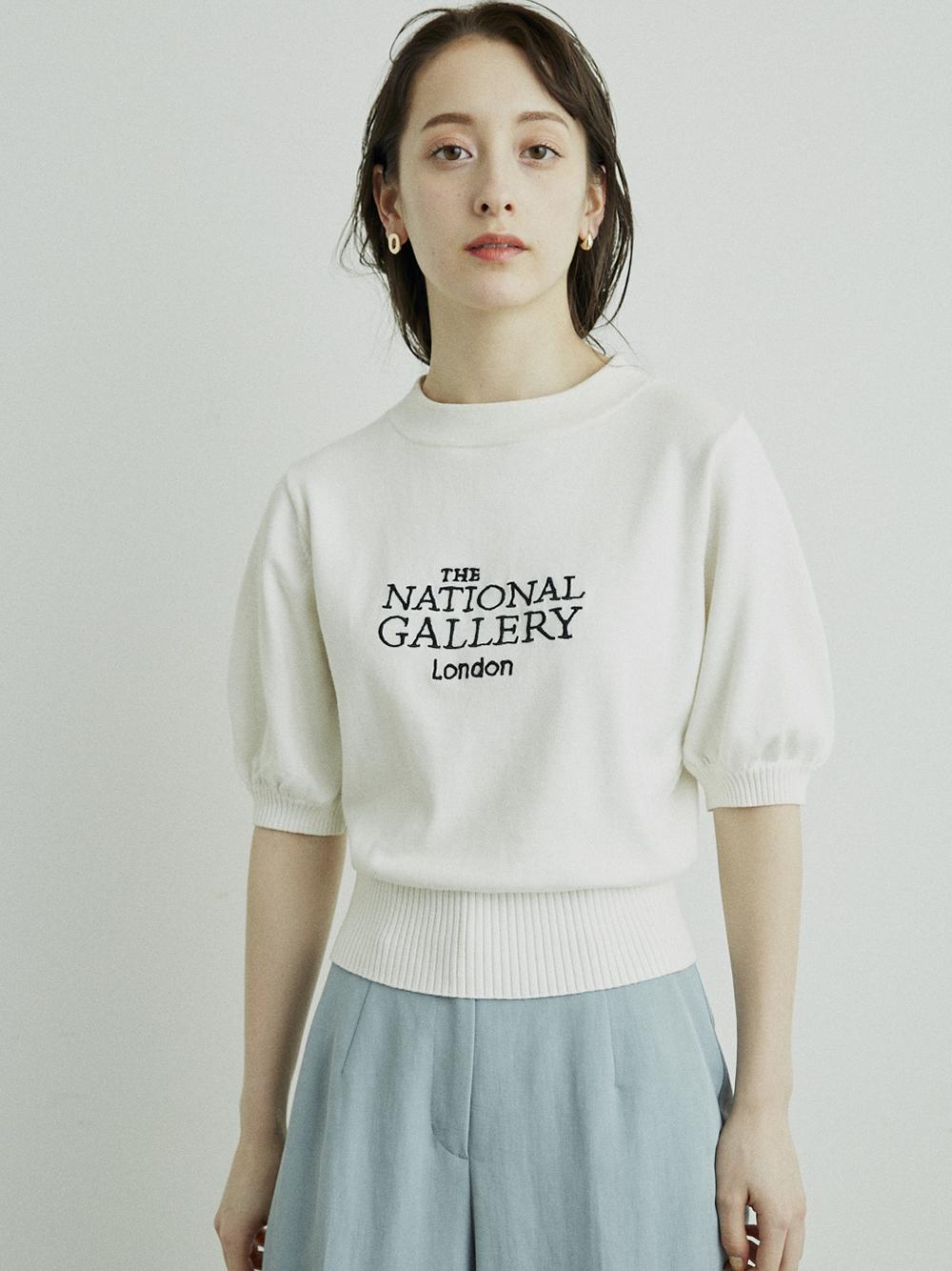 【The National Gallery, London】LOGO針織上衣