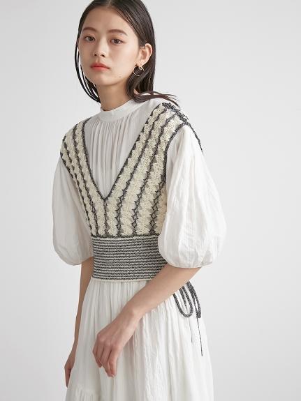 鉤針編織造型背心