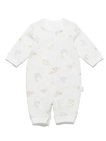 【新生兒】動物主廚印花baby 2way連身衣