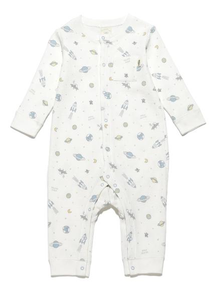 太空印花baby連身衣