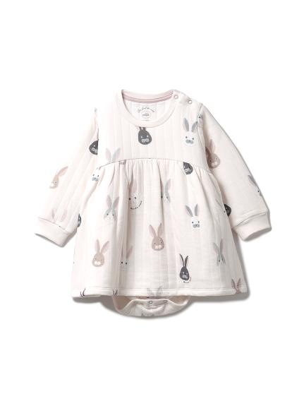 兔子圖案baby連身衣