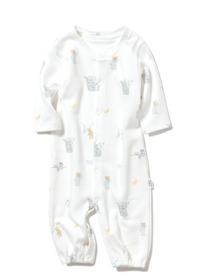 【BABY】早安小熊 新生兒2穿連身衣