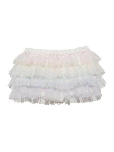 彩虹蕾絲層次baby短褲