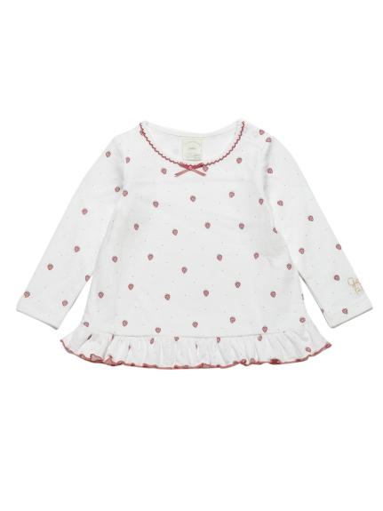 草莓印花baby上衣