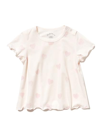 愛心圖案baby T-Shirt