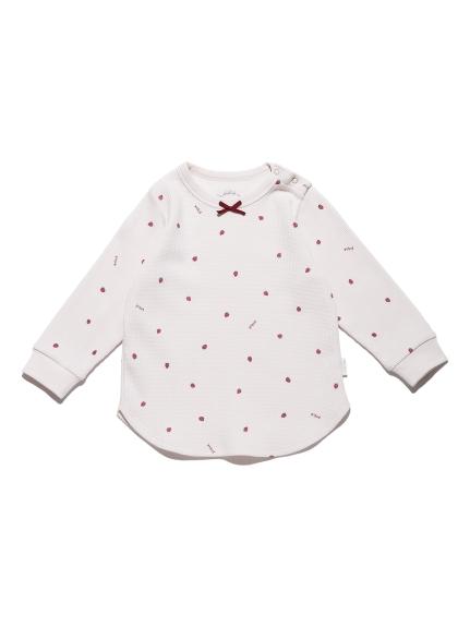 【BABY】華夫格草莓上衣