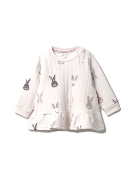 兔子圖案baby上衣