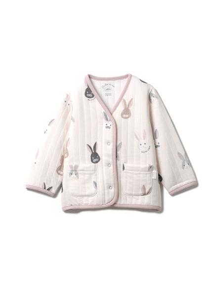 兔子圖案baby開襟衫