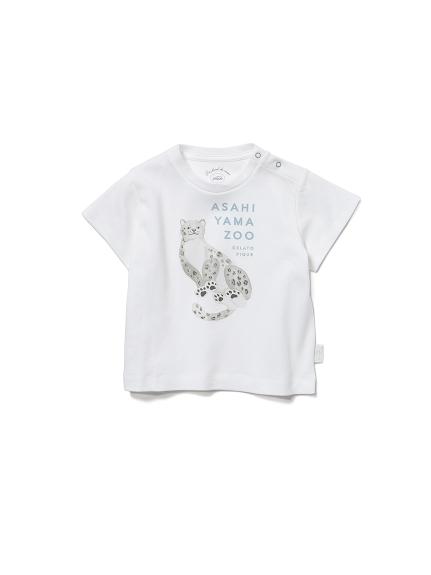 【BABY】【旭山動物園】雪豹 嬰兒T-Shirt