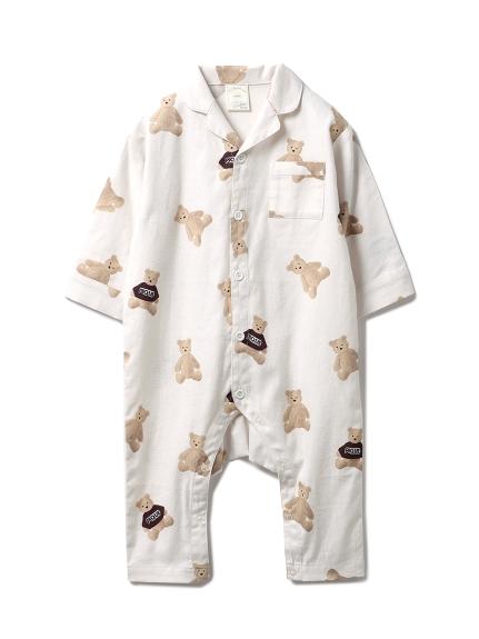 【xmas限定】baby小熊法蘭絨連身衣