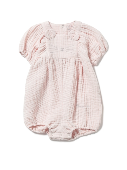 【BABY】動物造型純棉 嬰兒短版連身衣