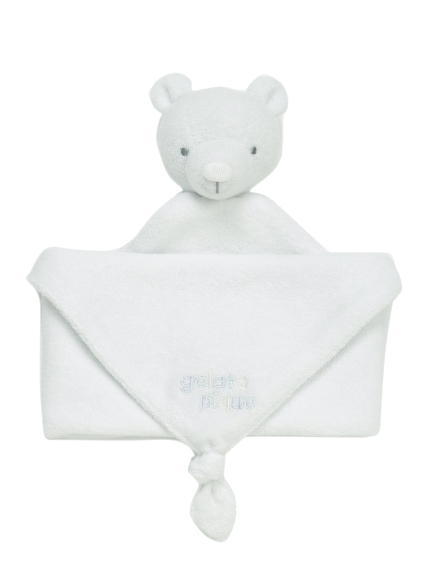 白熊造型baby安撫巾