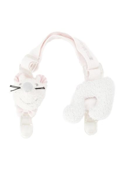 ' babymoco ' 老鼠造型baby圍兜兜夾