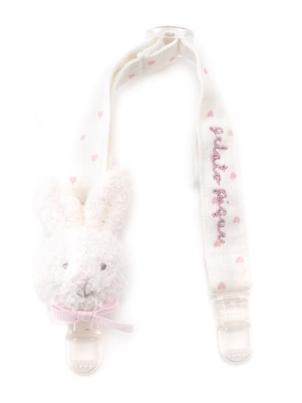 ' babymoco ' 兔兔造型baby圍兜兜夾