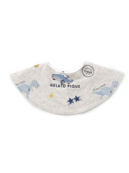 boys' favorite印花造型baby圍兜兜