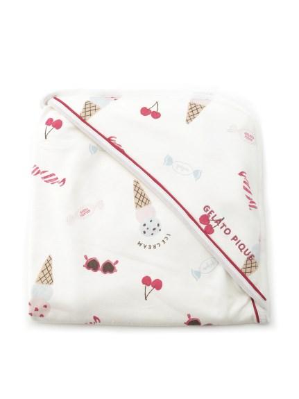 girls' favorite印花造型baby小毯