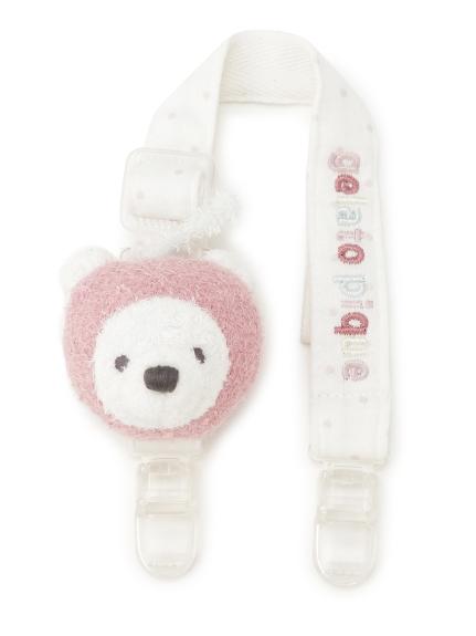 ' smoothie ' 北極熊水果造型baby圍兜兜夾