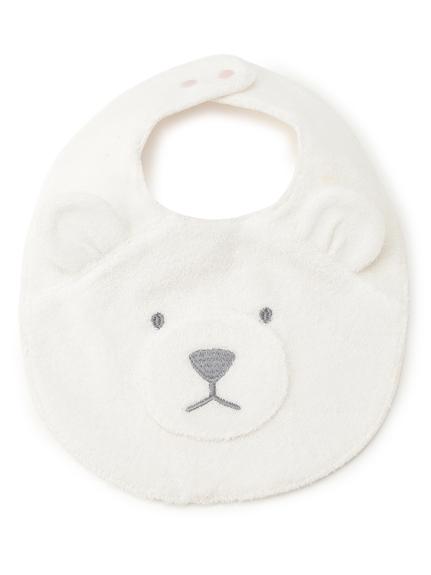 北極熊印花baby圍兜兜