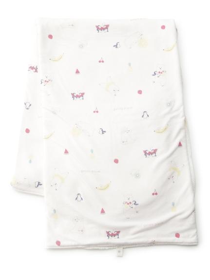 北極熊印花baby毯子