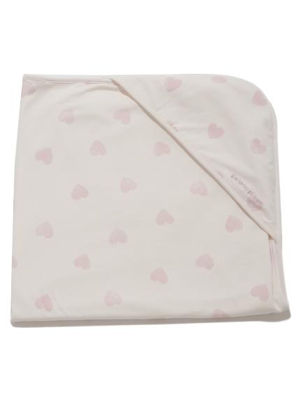 愛心圖案baby 小毯