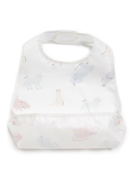 【旭山動物園】baby動物圖畫吃飯圍兜兜