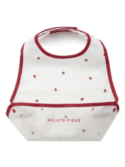 【BABY】草莓吃飯圍兜兜