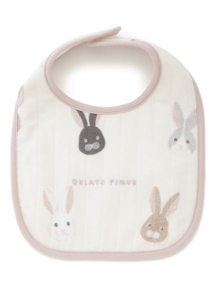 POWDER'兔子baby口水巾