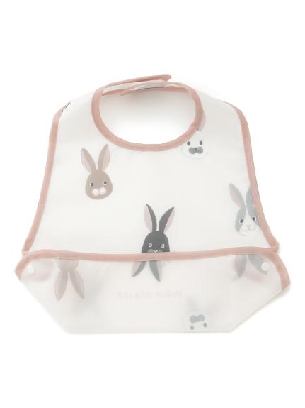 POWDER'兔子baby吃飯圍兜兜