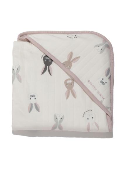 兔子圖案baby小毯子
