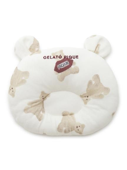 小熊圖案baby枕頭