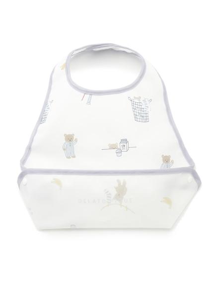 【BABY】早安小熊 嬰兒吃飯圍兜兜