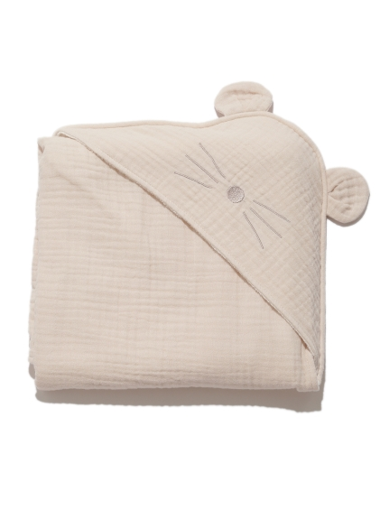 【BABY】動物造型純棉 嬰兒小毯