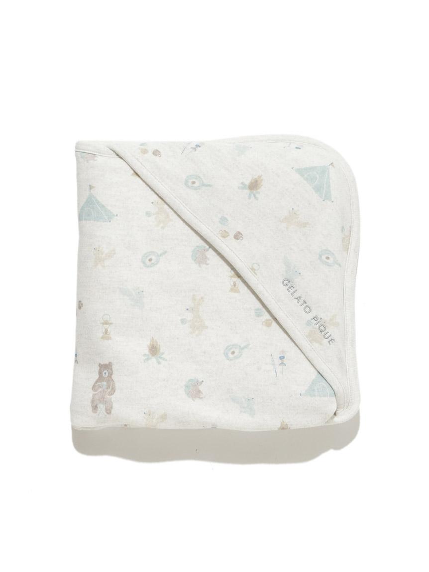 【BABY】動物露營趣 嬰兒小毯