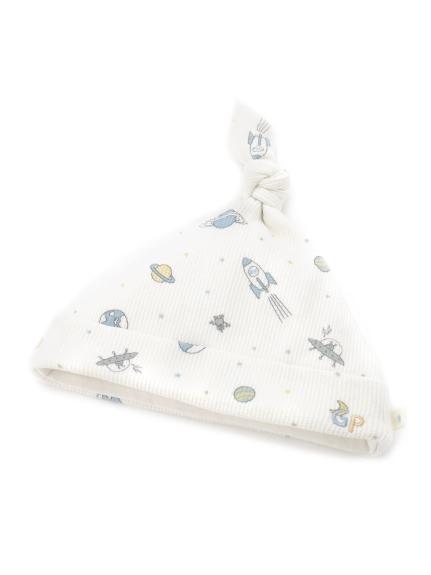 太空印花baby帽子