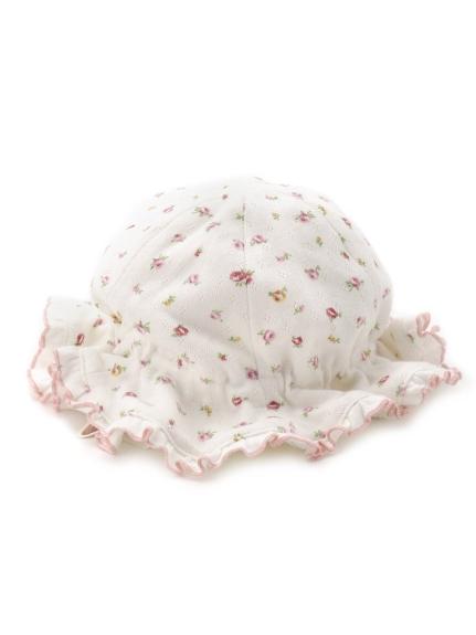 碎花造型baby帽子