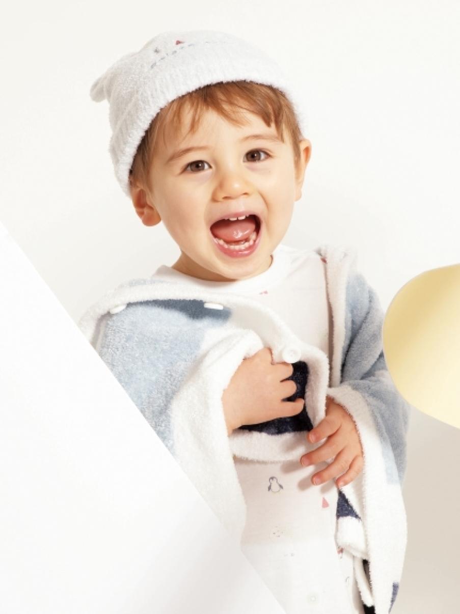 ' smoothie ' 北極熊水果造型baby帽子