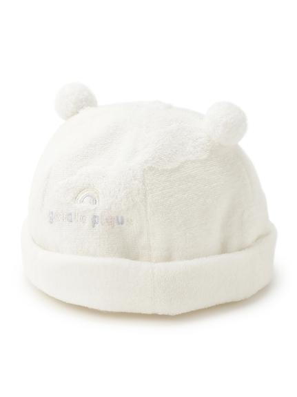 雲朵緹花baby帽子